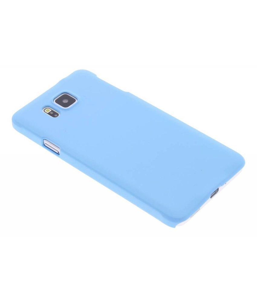 Turquoise effen hardcase hoesje Samsung Galaxy Alpha