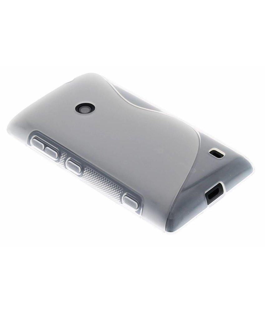 Transparant S-line TPU hoesje Nokia Lumia 520 / 525