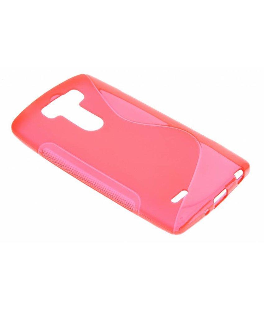 Rood S-line TPU hoesje LG G3 S