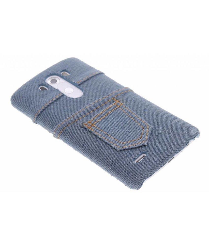 Denim jeans hardcase hoesje LG G3