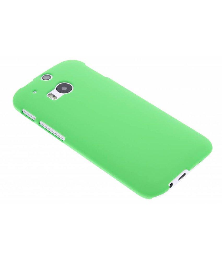 Groen effen hardcase HTC One M8 / M8s