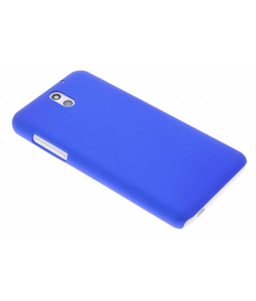 Blauw effen hardcase hoesje HTC Desire 610