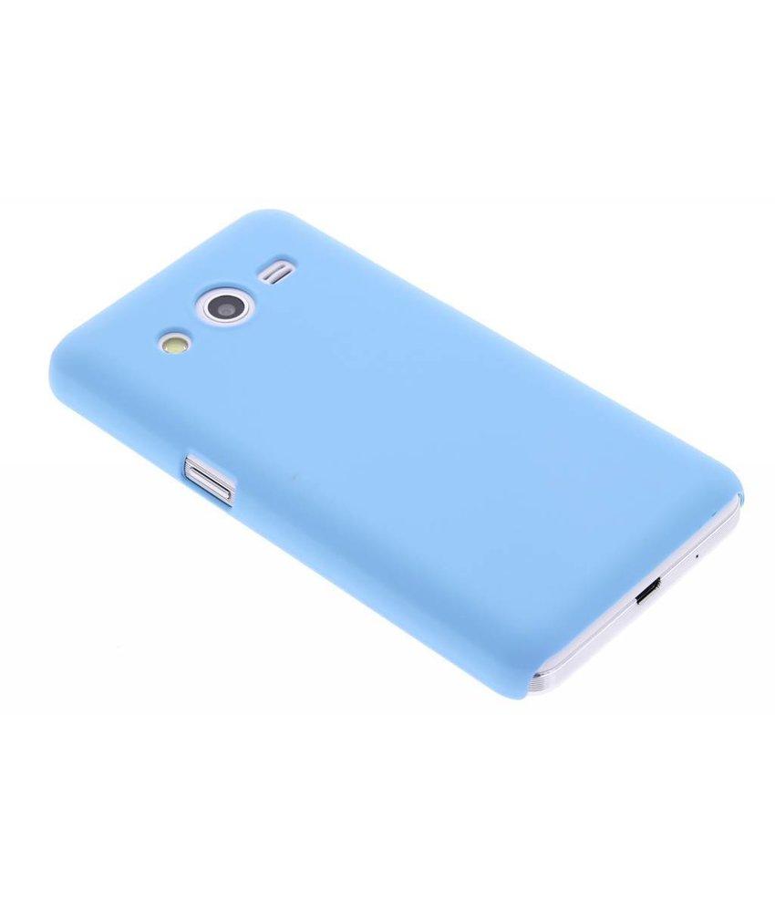 Turquoise effen hardcase hoesje Samsung Galaxy Core 2