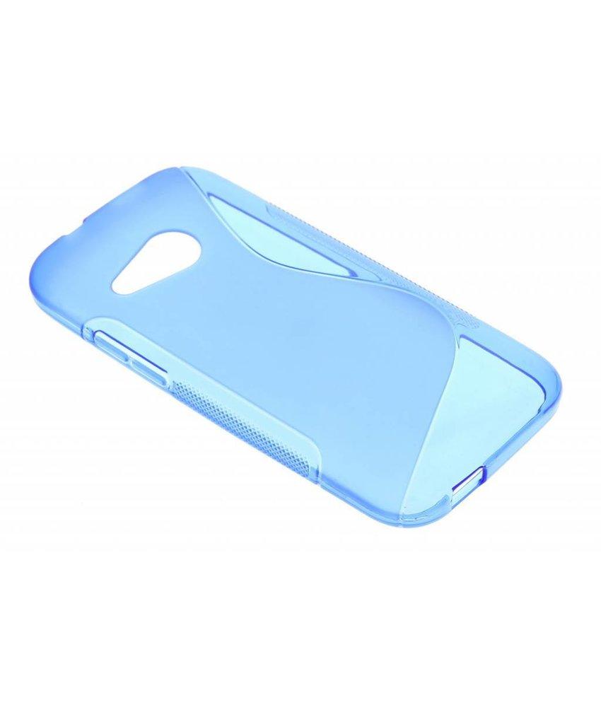 Blauw S-line TPU hoesje HTC One Mini 2