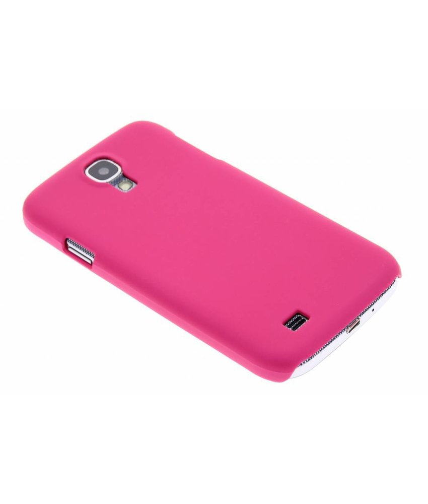 Fuchsia effen hardcase Samsung Galaxy S4
