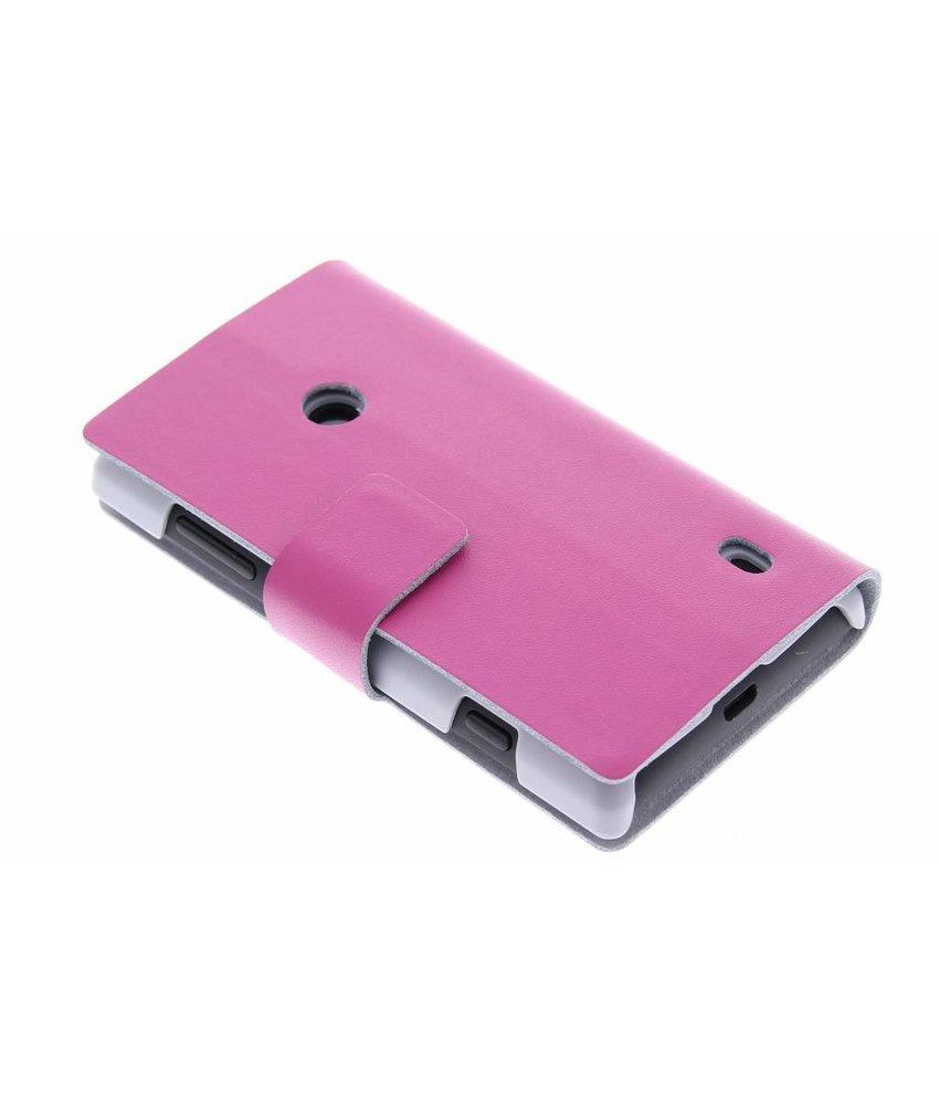 Stijlvolle booktype hoes Nokia Lumia 520 / 525