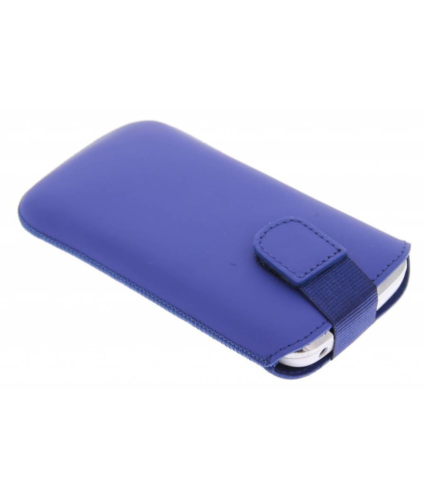 Mobiparts Premium Pouch maat L - blauw