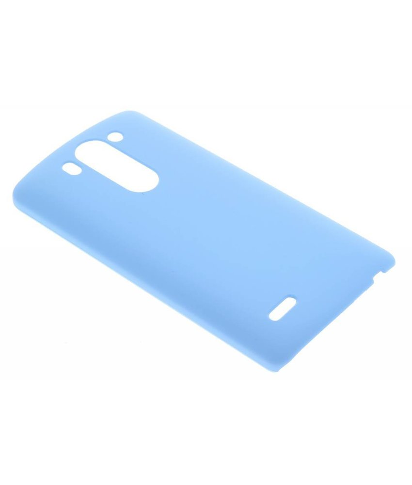 Turquoise effen hardcase hoesje LG G3 S