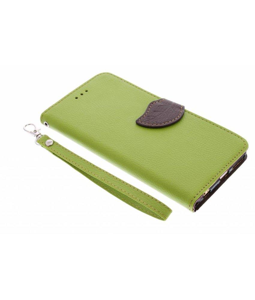 Blad design booktype hoes iPhone 6(s) Plus