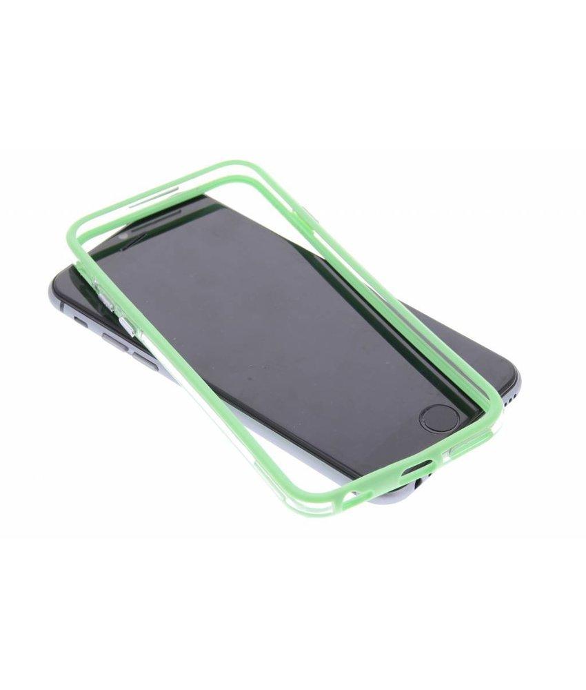 Groen transparante bumper iPhone 6 / 6s