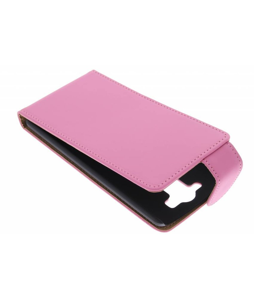 Roze classic flipcase LG G3 S