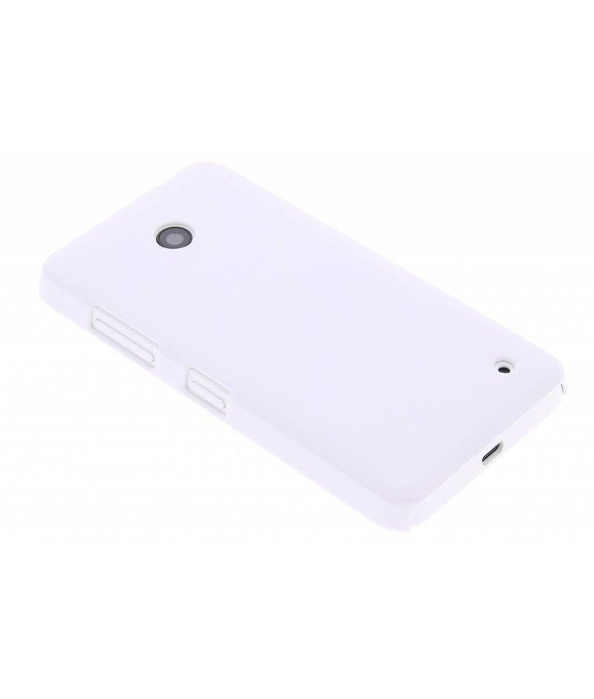 Wit effen hardcase hoesje Nokia Lumia 630 / 635