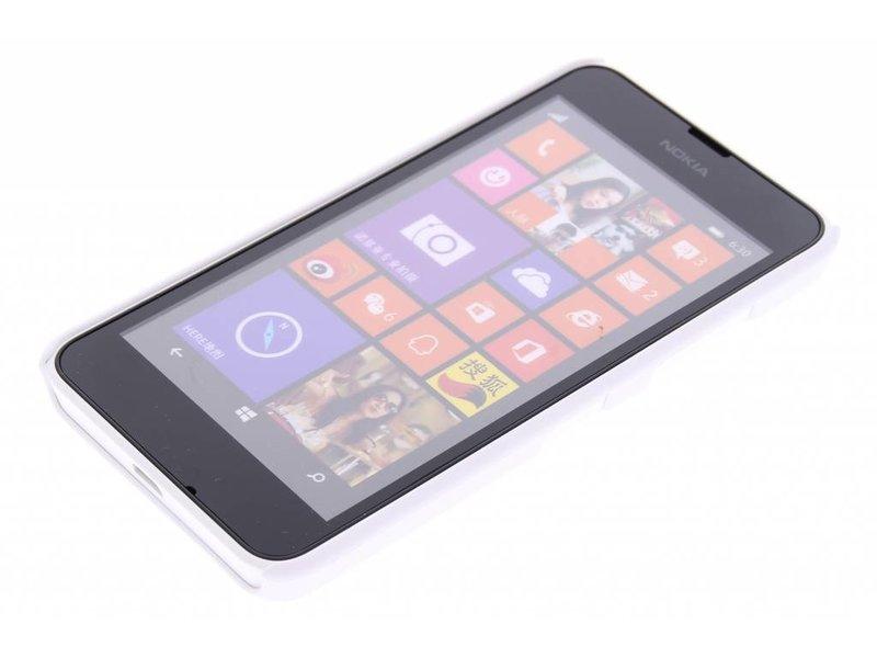 Wit effen hardcase hoesje voor de Nokia Lumia 630 / 635