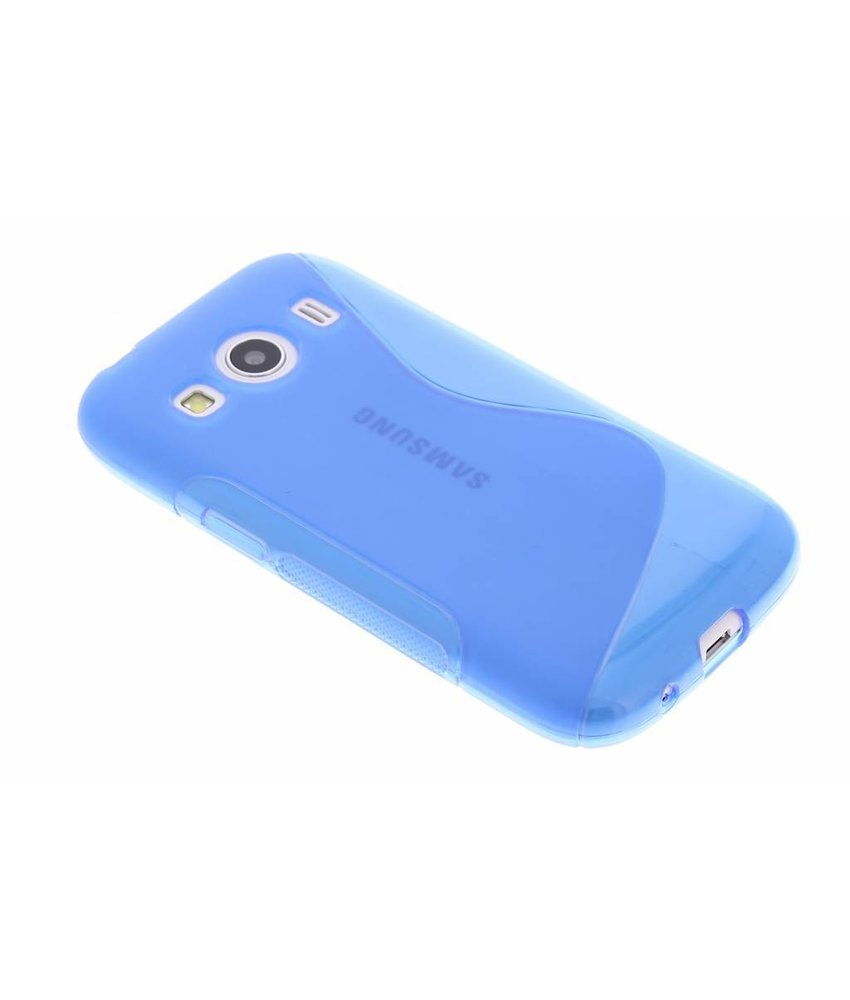 Blauw S-line TPU hoesje Samsung Galaxy Ace 4