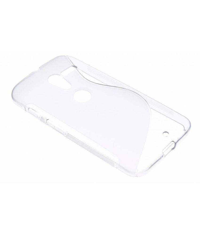 Transparant S-line TPU hoesje Motorola Moto X