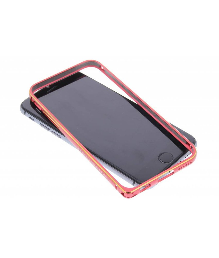 Nillkin Gothic Metal Frame bumper iPhone 6 / 6s - rood