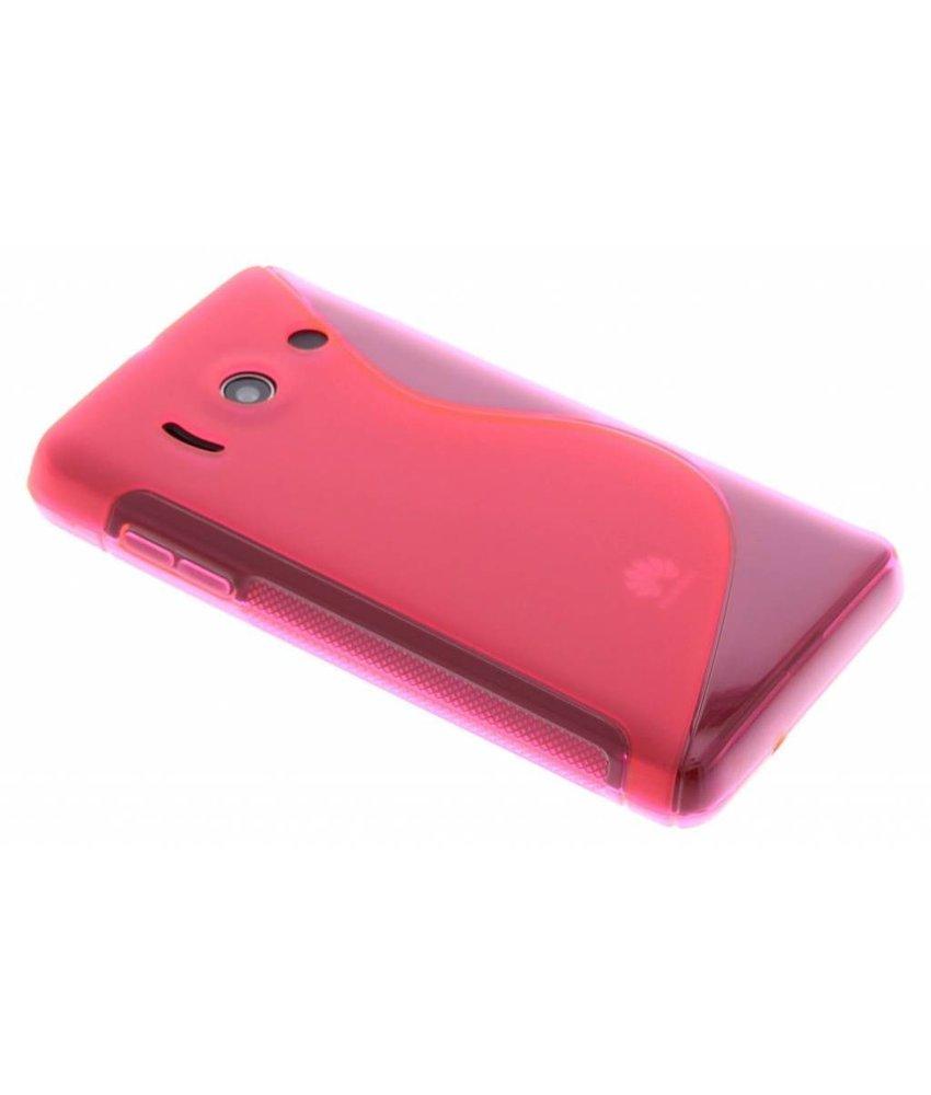Rosé S-line TPU hoesje Huawei Ascend Y300