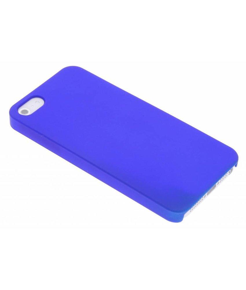 Blauw effen hardcase iPhone 5 / 5s / SE