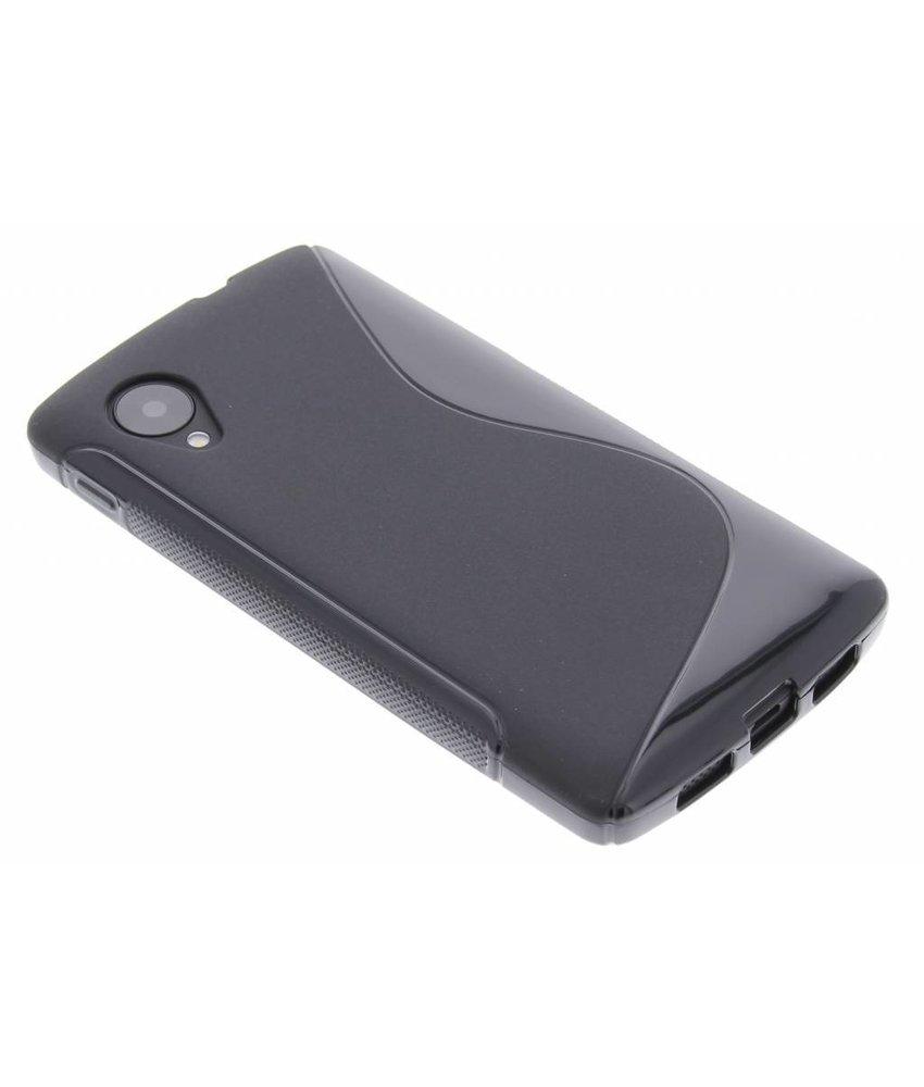 Zwart S-line TPU hoesje LG Nexus 5