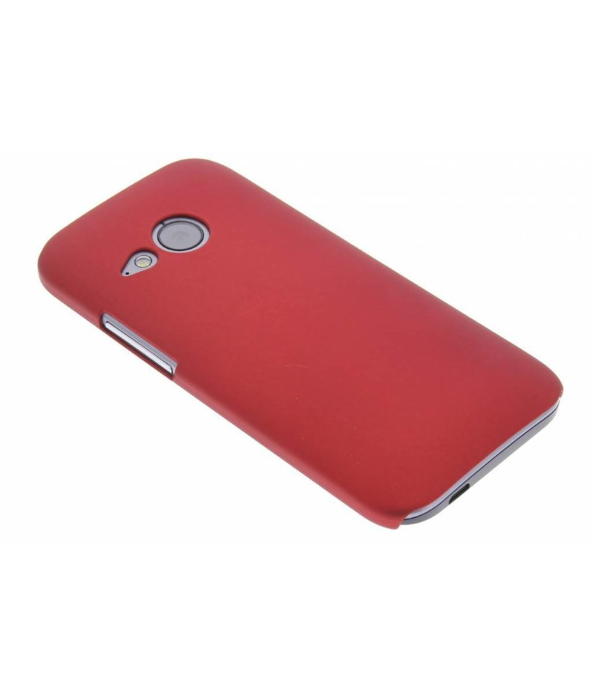 Rood effen hardcase HTC One Mini 2
