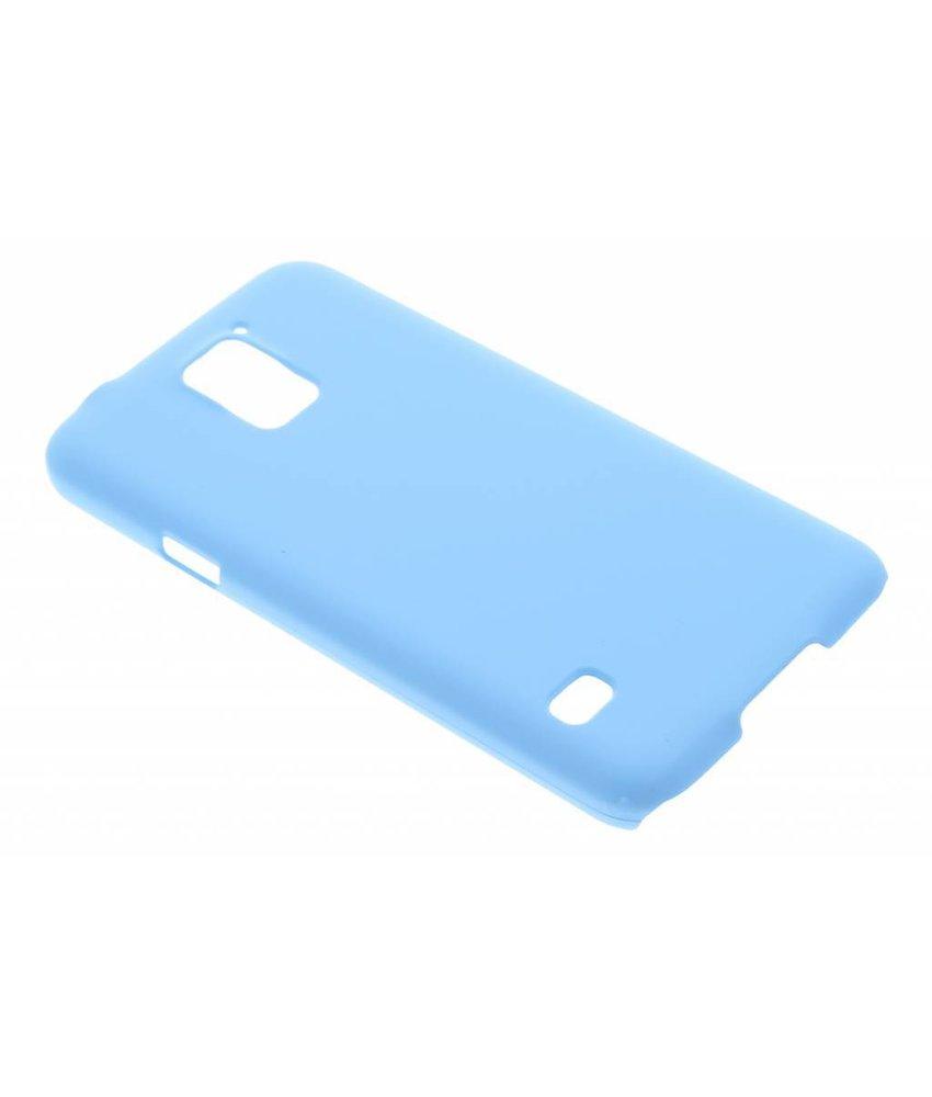 Turquoise effen hardcase hoesje Samsung Galaxy S5 (Plus) / Neo