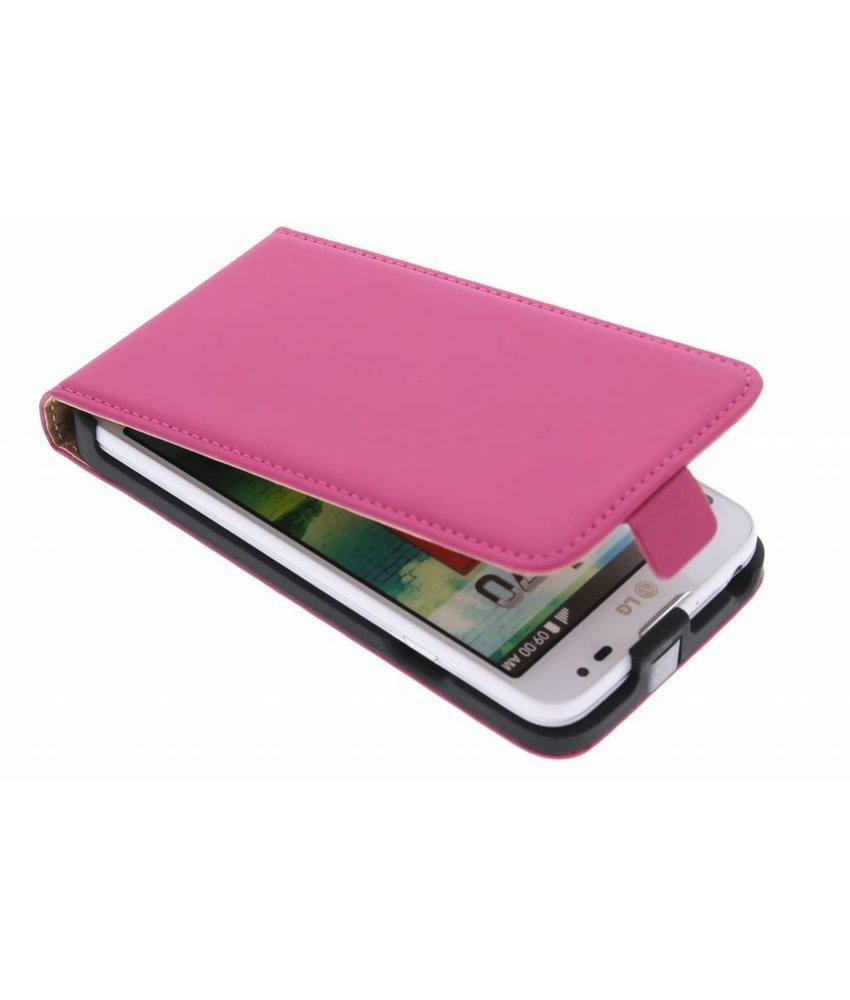 Mobiparts Premium flipcase LG L70 - Pink