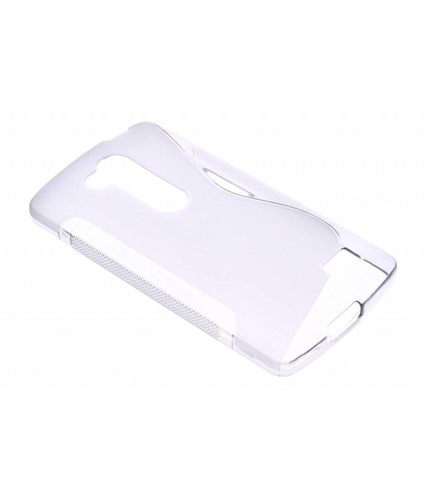 Grijs S-line TPU hoesje LG L Fino / L70 Plus