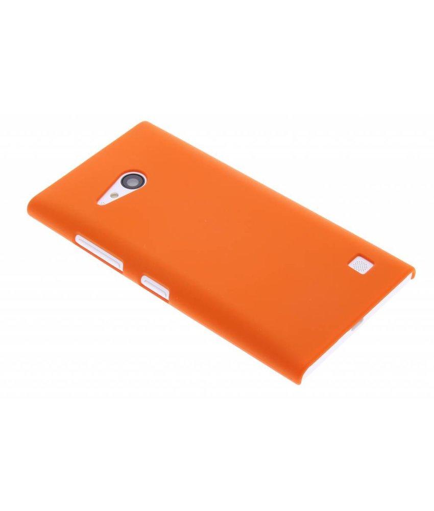 Oranje effen hardcase Nokia Lumia 730 / 735