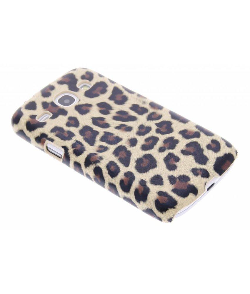 Bruin luipaard hardcase Samsung Galaxy Core