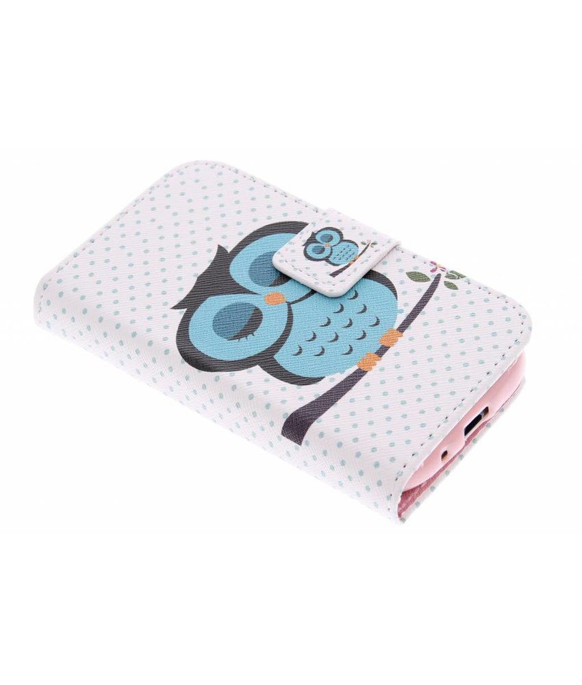 Design TPU booktype hoes Samsung Galaxy Ace 2
