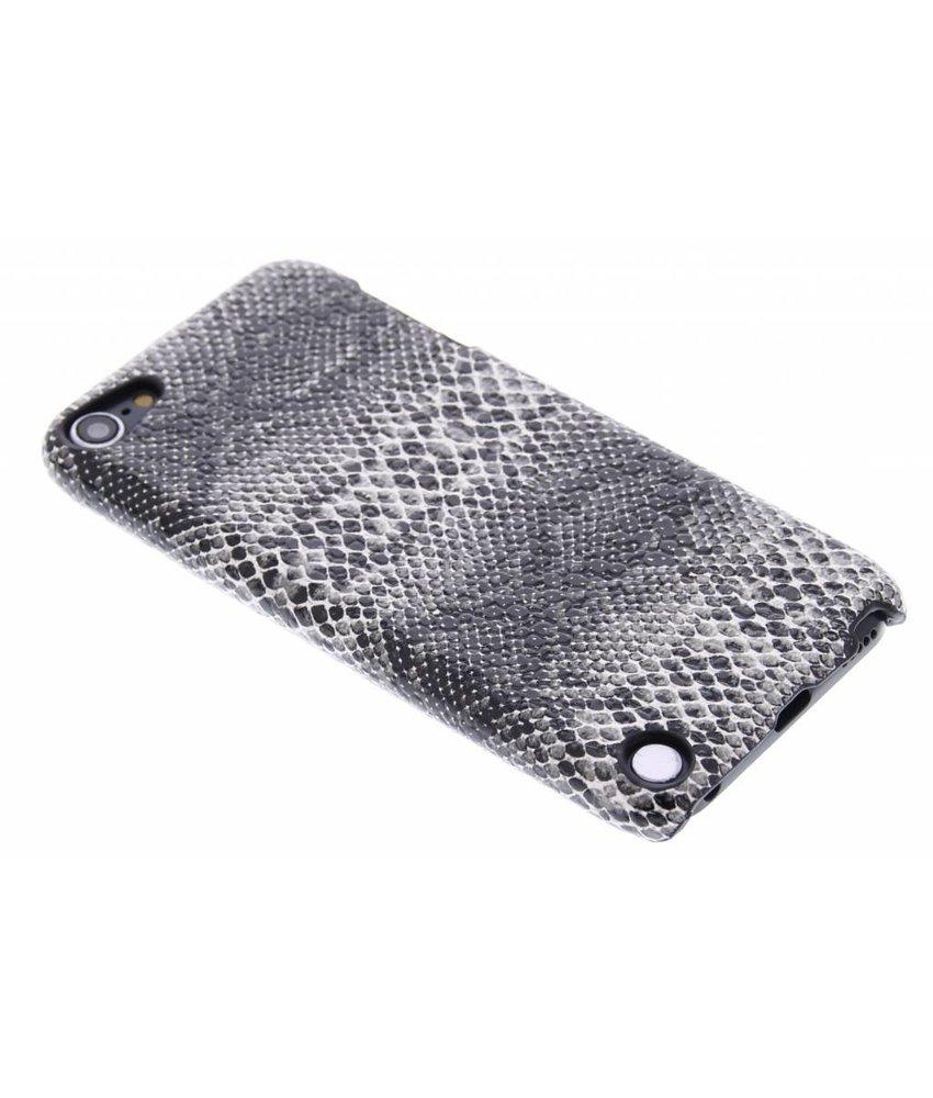 Zwart slangen design hardcase iPod Touch 5g / 6