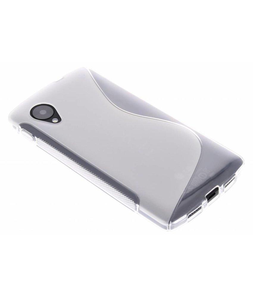 Transparant S-Line TPU hoesje LG Nexus 5