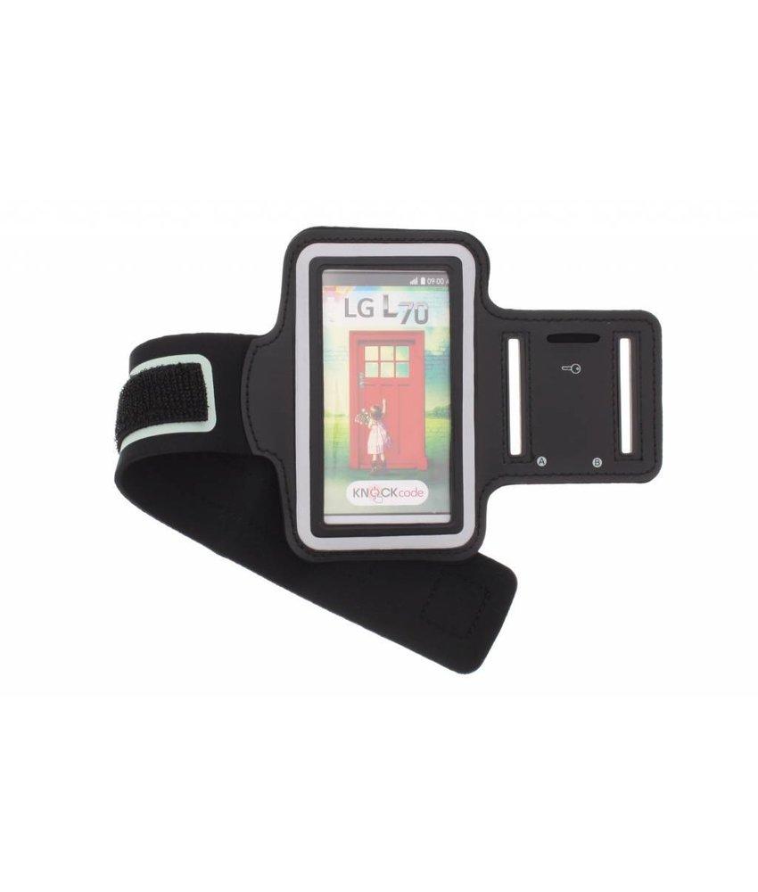 Zwart sportarmband LG L70