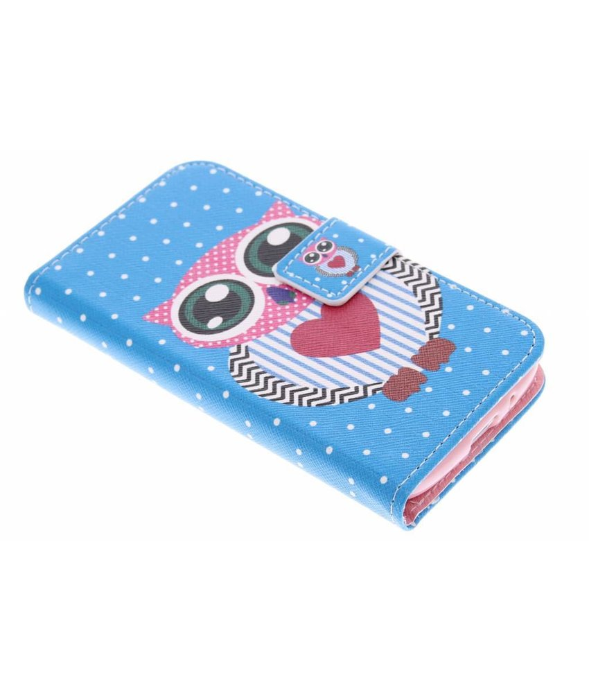Design TPU booktype hoes Samsung Galaxy Core