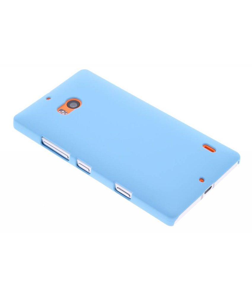 Turquoise effen hardcase hoesje Nokia Lumia 930