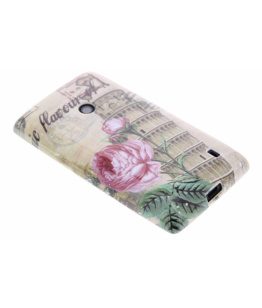 Design TPU siliconen hoesje Nokia Lumia 520 / 525