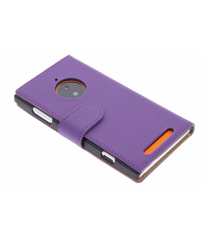 Paars effen booktype Nokia Lumia 830