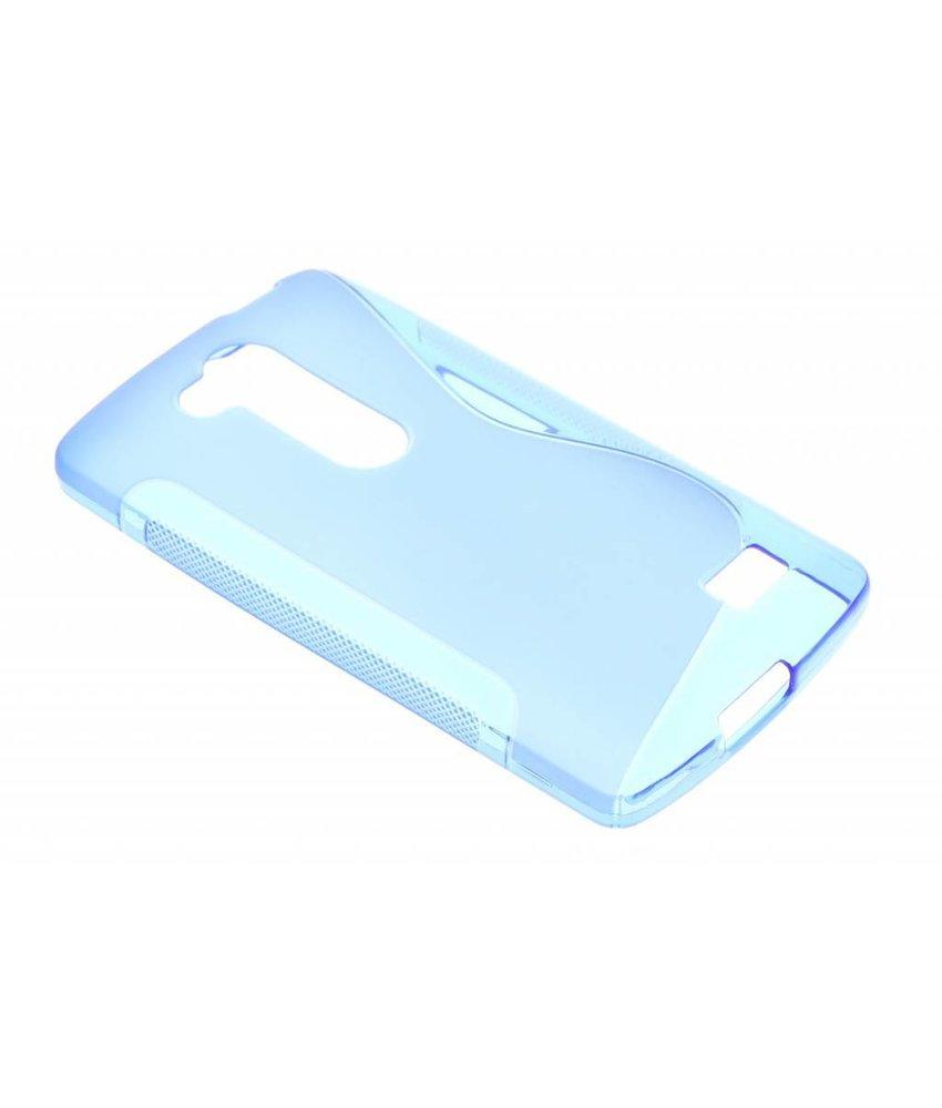 Blauw S-line TPU hoesje LG L Fino / L70 Plus