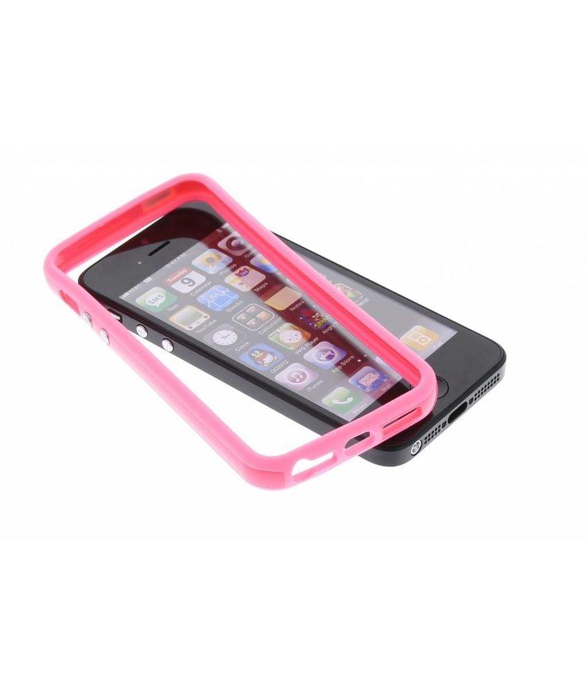 Roze bumper iPhone 5 / 5s / SE