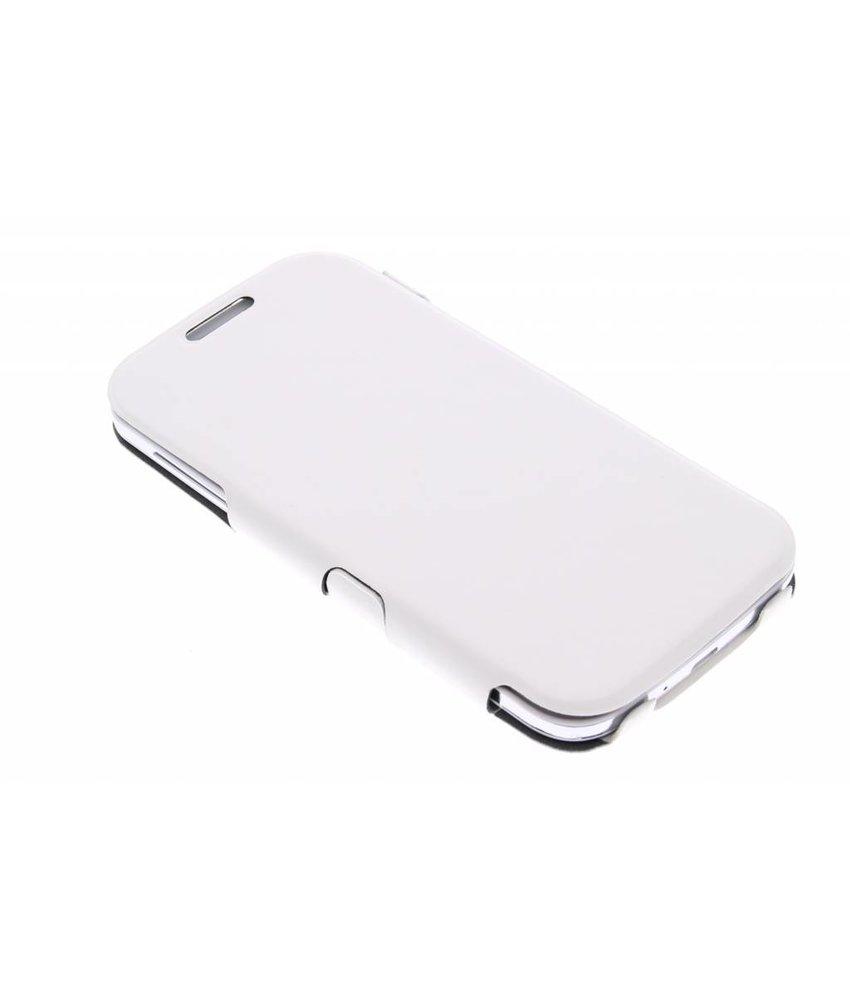Muvit iFlip Folio Samsung Galaxy S4 - wit