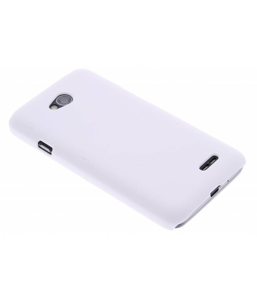 Wit effen hardcase hoesje LG L70 / L65