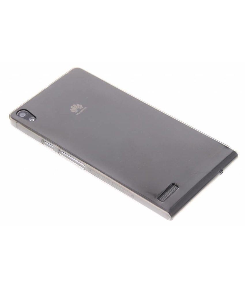 Ultra thin TPU hoesje Huawei Ascend P6 / P6s