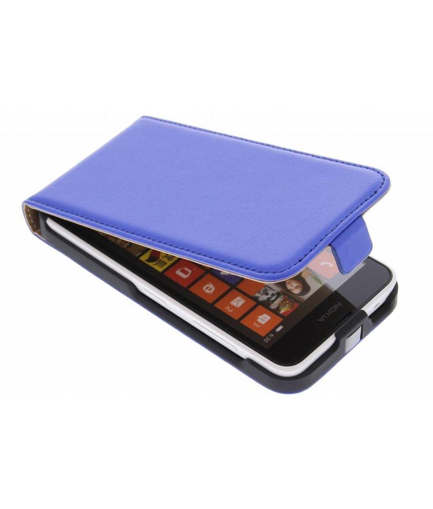 Blauw luxe flipcase Nokia Lumia 630 / 635