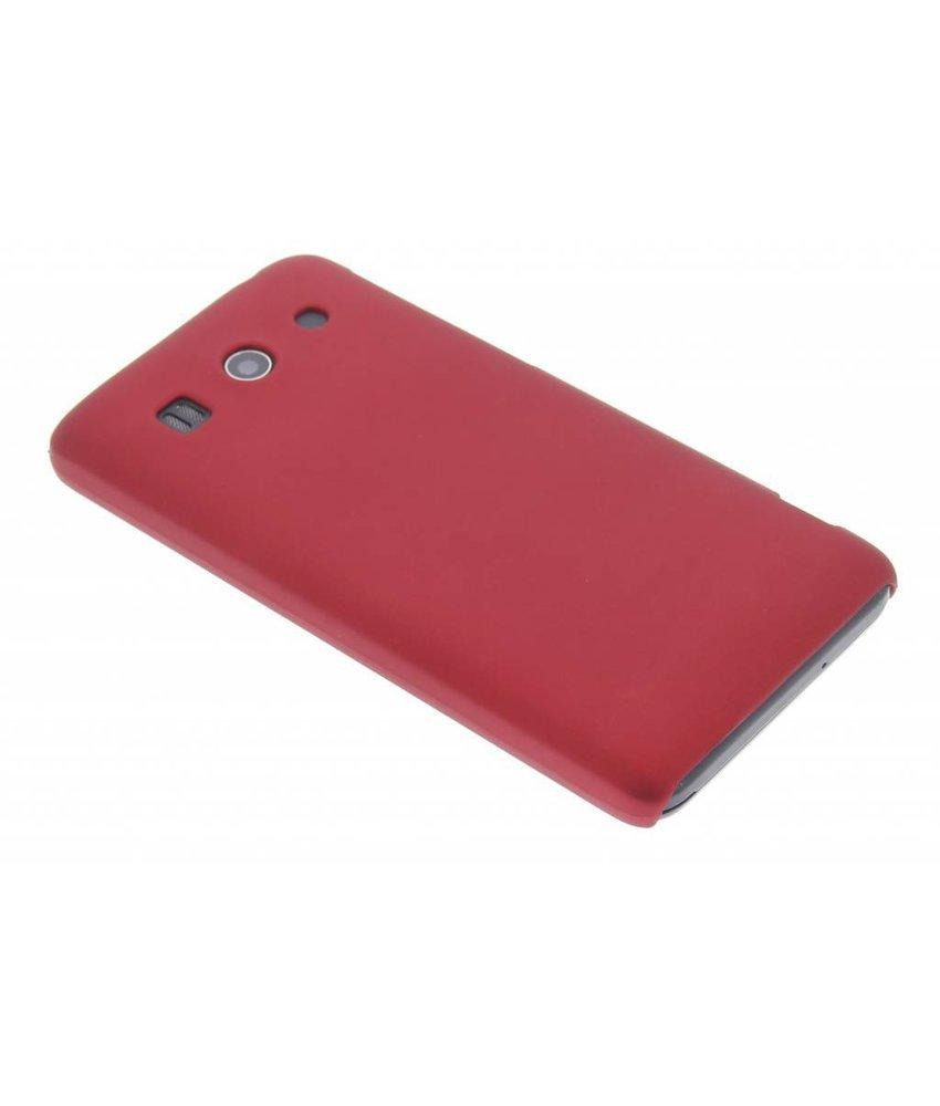 Rood effen hardcase hoesje Huawei Ascend G525