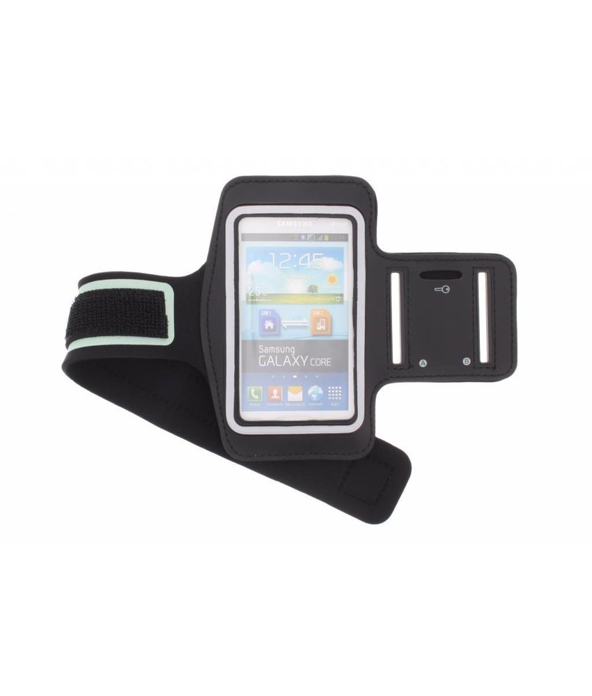Zwart sportarmband Samsung Galaxy Core