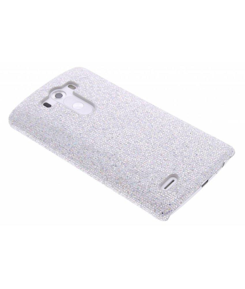 Wit glamour design hardcase hoesje LG G3