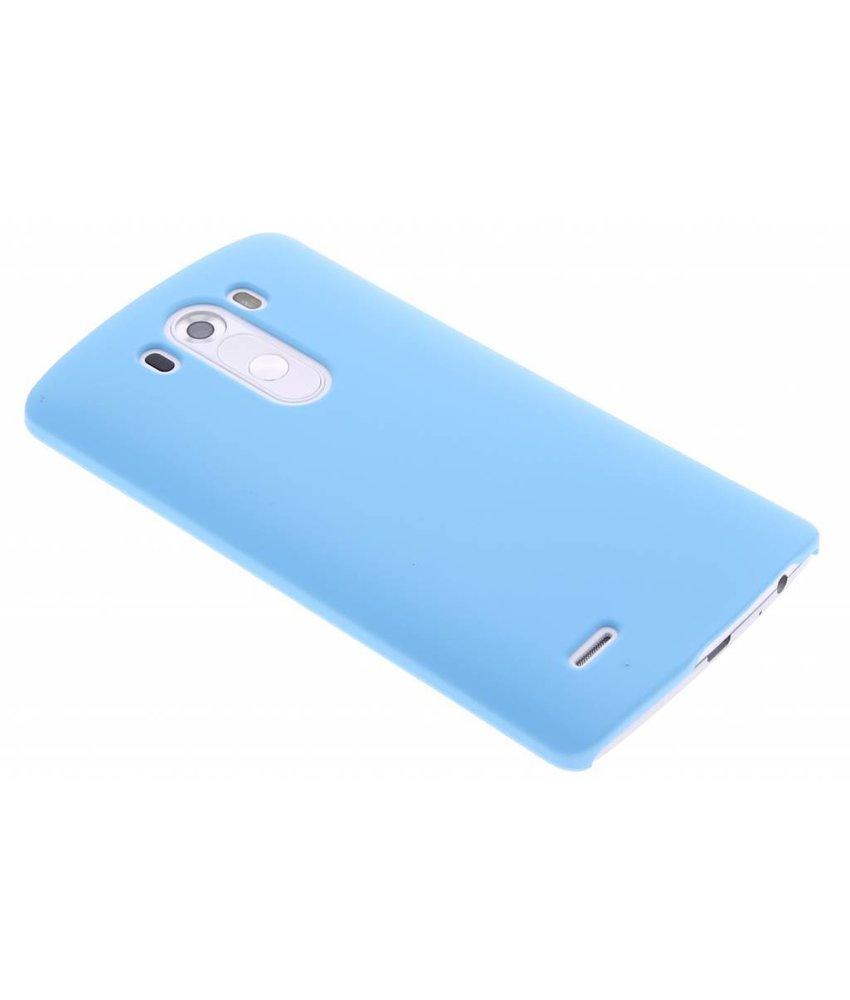 Turquoise effen hardcase hoesje LG G3