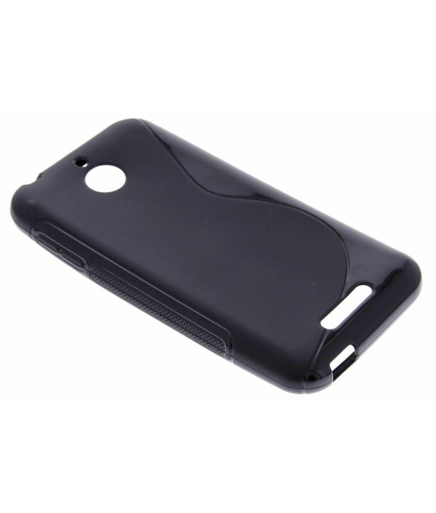 Zwart S-line TPU hoesje HTC Desire 510