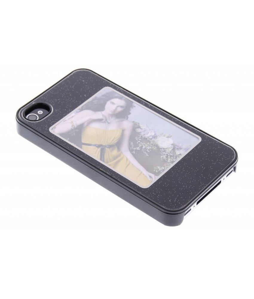 Zwart picture frame hardcase iPhone 4 / 4s