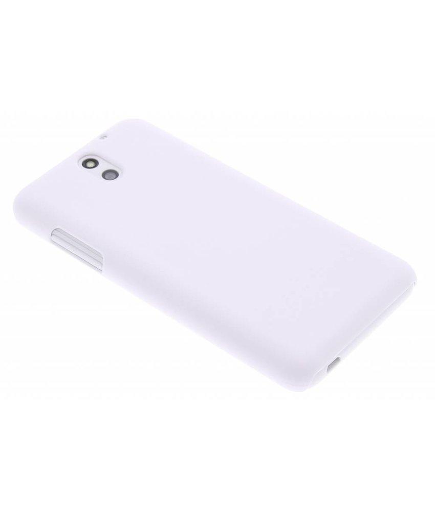 Wit effen hardcase hoesje HTC Desire 610